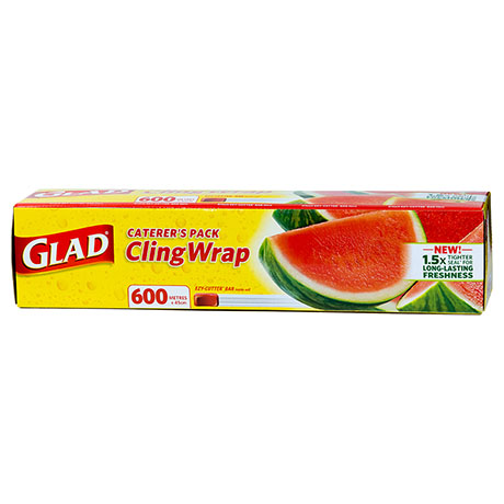 Glad® Caterer's Cling Wrap 600m x 45cm