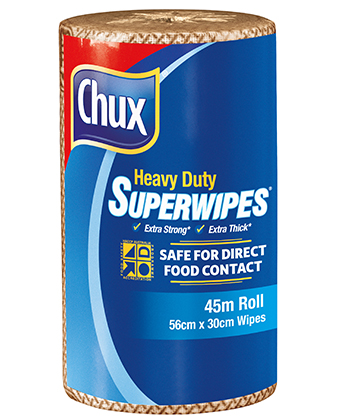 Chux® Superwipes® HD Roll Espresso Café 45m