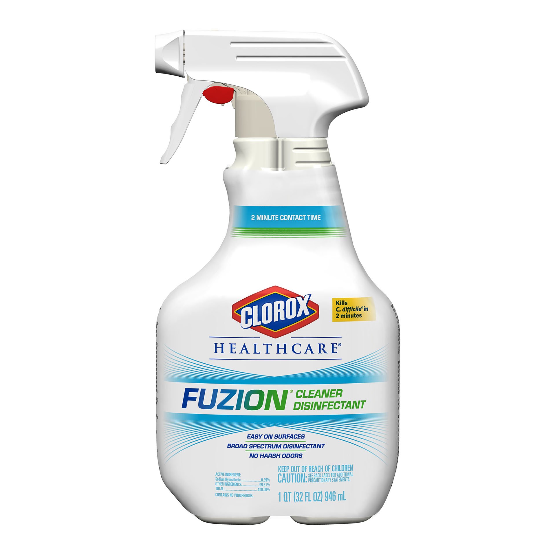 Clorox® Fuzion® Cleaner Disinfectant Spray 946ml