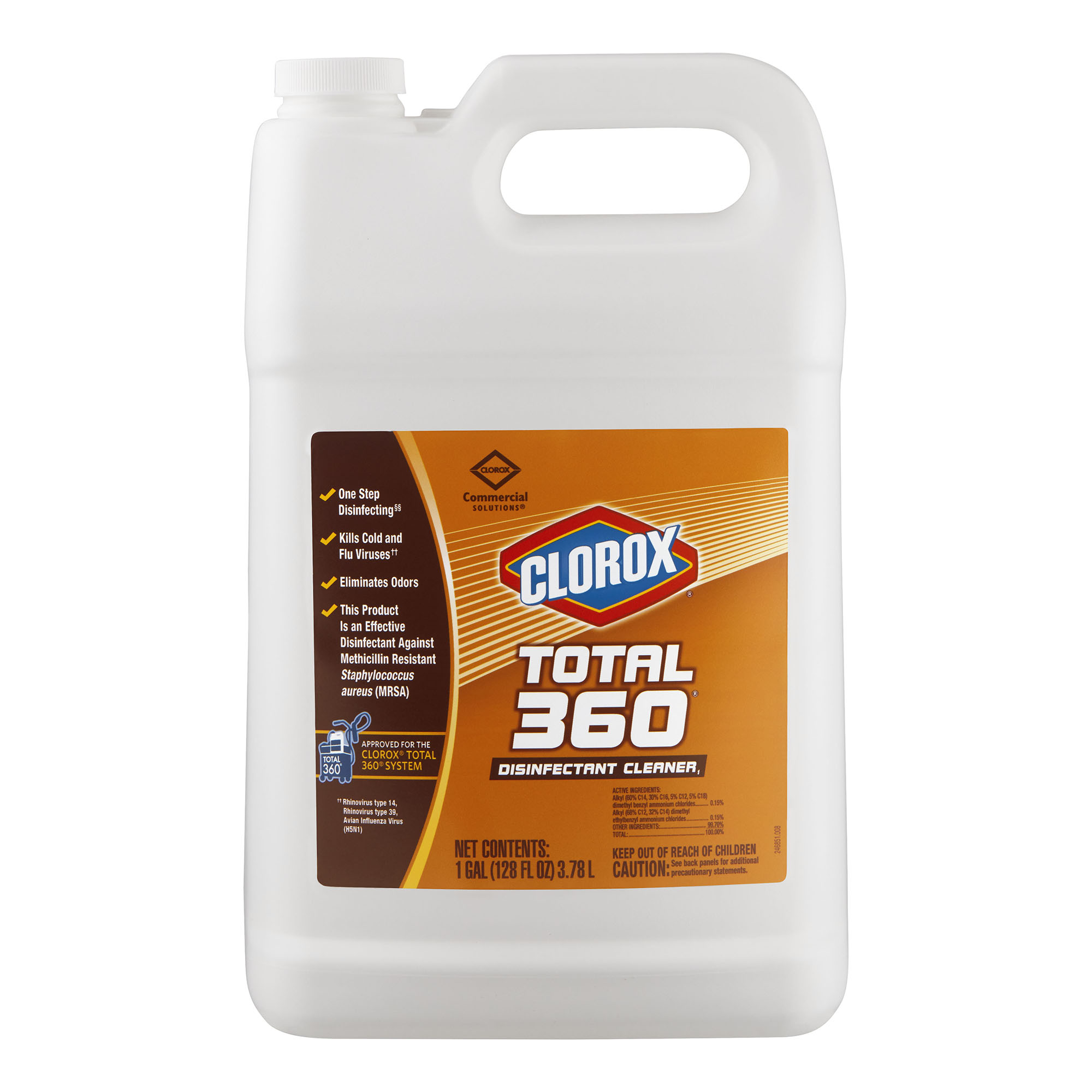 Clorox® Total 360® Disinfectant Cleaner 3.78L